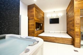 SPA2: Privat sauna + Jacuzzi