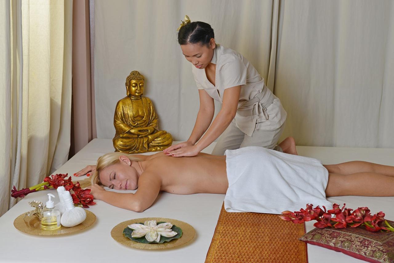 Тайский массаж для баб 1 фотография